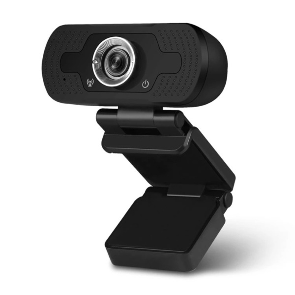 🇸🇬 SG SELLER 🇸🇬 FHD 1080P Webcam with Microphone, Streaming Computer Webcam for Desktop/Laptop/PC, USB Plug and Play Webcam for Live Video Meeting (Black)