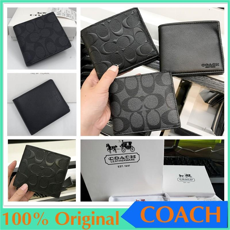 Coach f75006 f74771 Short wallet / coin purse / leather wallet