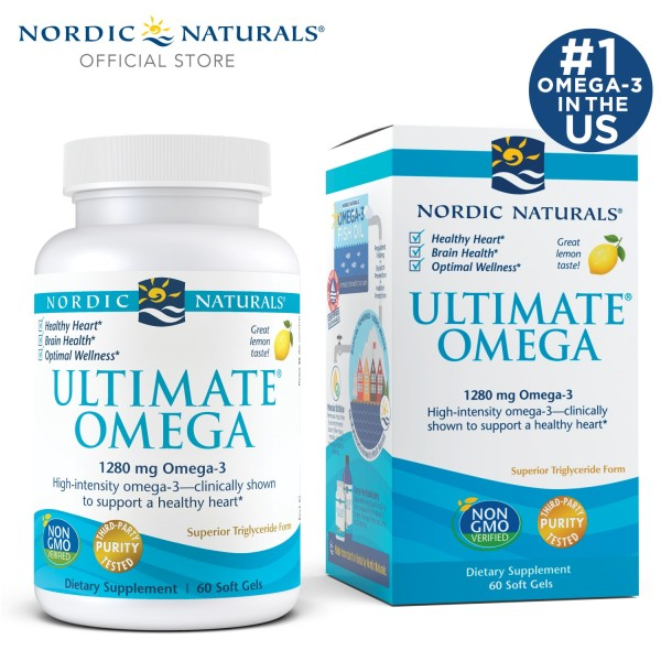 Buy Nordic Naturals Ultimate Omega Soft Gels 60s Singapore