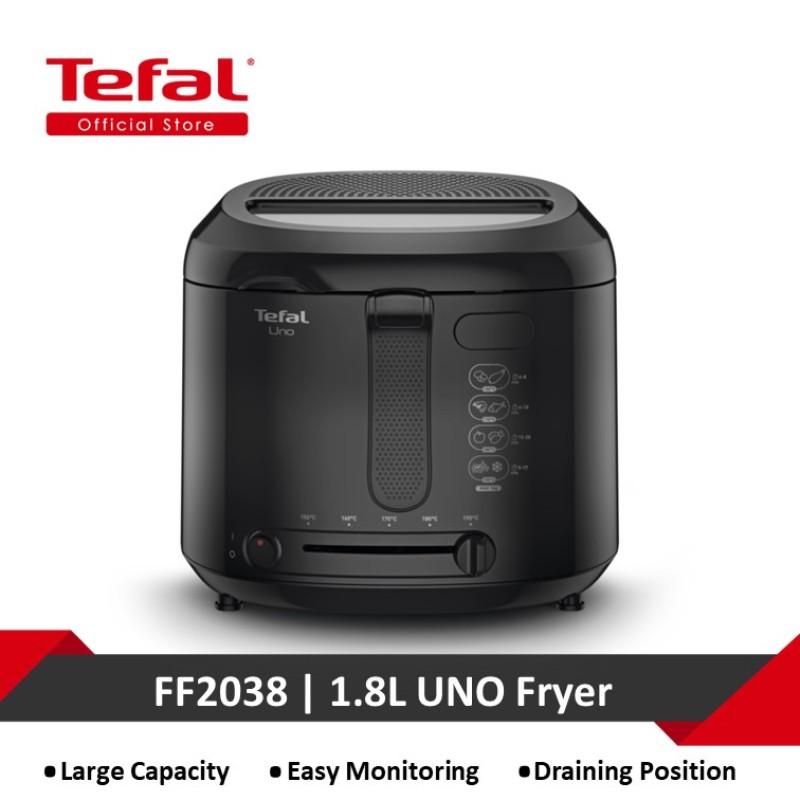 Tefal Fry Uno 1.8L Black UK FF2038 Singapore