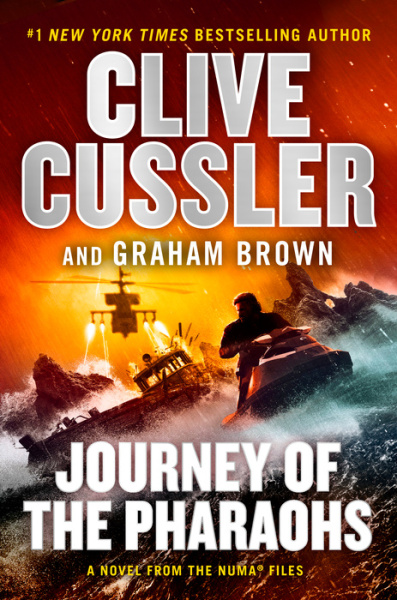 The Numa Files #17: Journey of the Pharaohs by Clive Cussler and Graham Brown