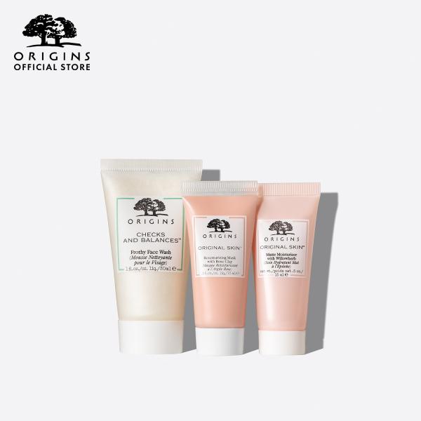 Buy Origins REFINING POWER Cleansing & Pore Refining Trio Set Singapore
