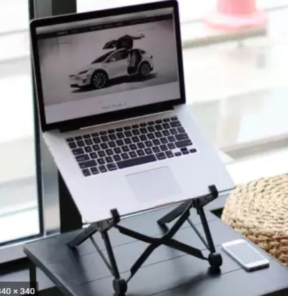 strong foldable portable easy to carry around laptop stand