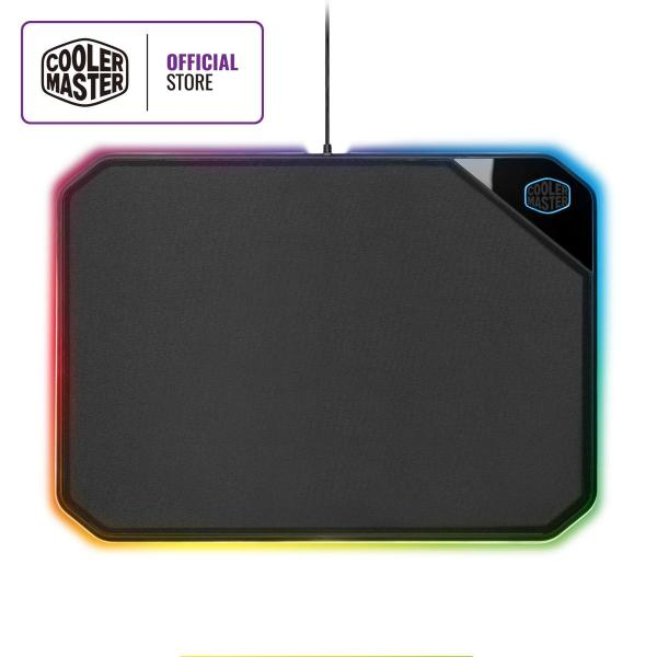 Cooler Master MP860 Gaming Mousepad, Dual Surface, RGB Illumination, Software Customization