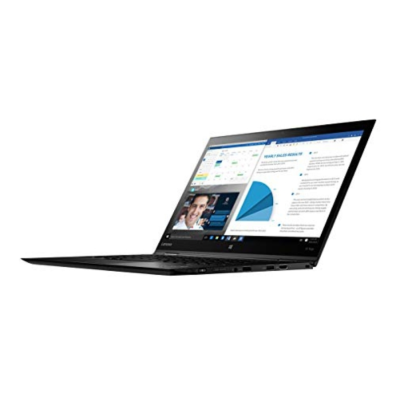 Lenovo 20LD001FUS Thinkpad X1 Yoga 20LD 14  Flip Design Notebook - Windows - Intel Core i7 1.9 GHz - 16 GB RAM - 512 GB SSD, Black