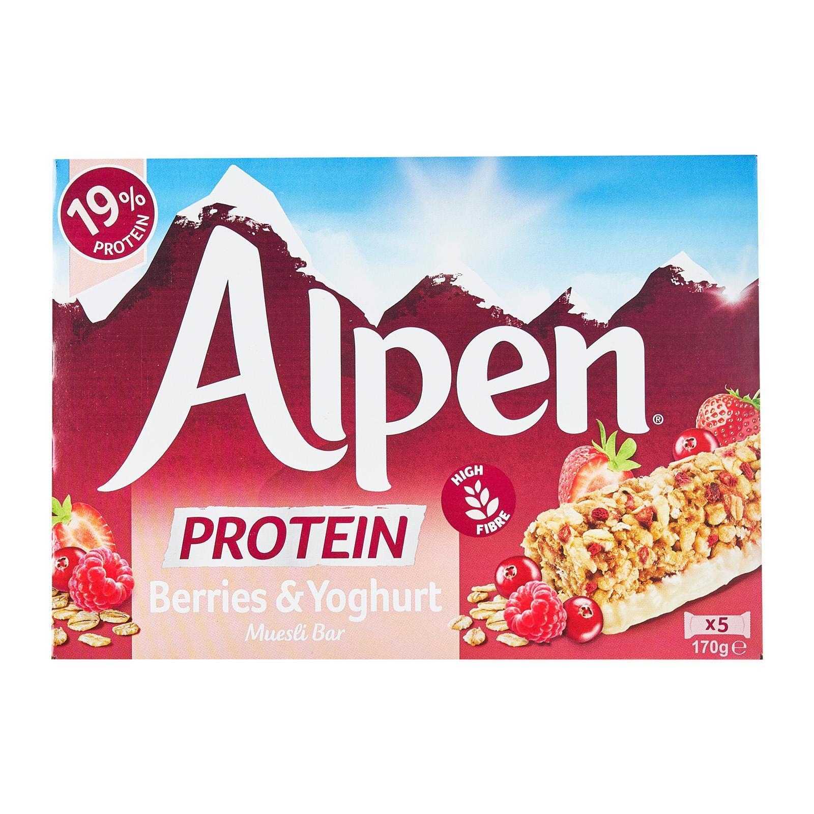 Alpen Berries Yoghurt Protein Bars