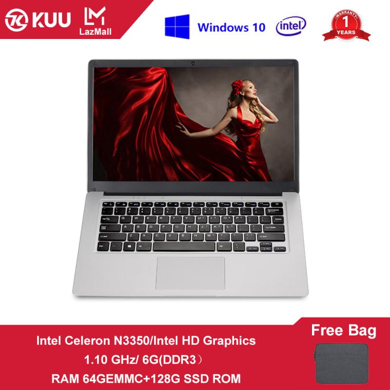feed me Brand New[1 Year Warranty][Free Bag]14 Inch FHD IPS Screen Intel Celeron N3350 8GB(DDR4) RAM 128/256GB(Double Hard Drive)SSD ROM Window 10 1.04~2.4GHz 0.3MP RJ45 Narrow Bezel Keyboard Ultrabook Traditional/Gaming Laptop