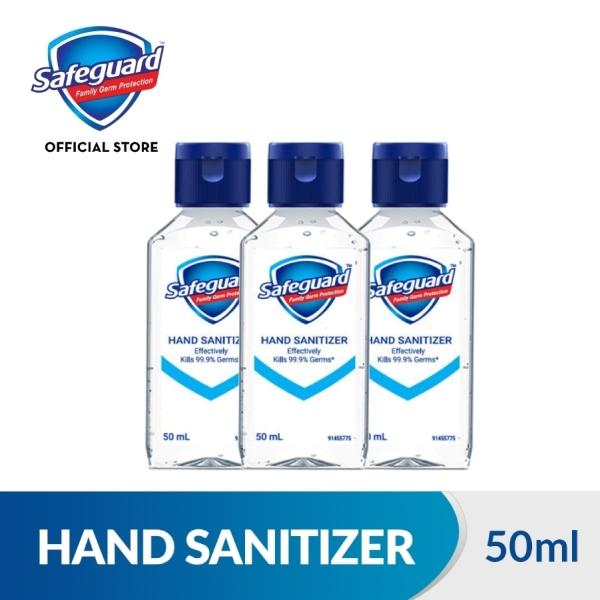 Buy [Bundle of 3] Safeguard Hand Sanitizer 50ml Singapore
