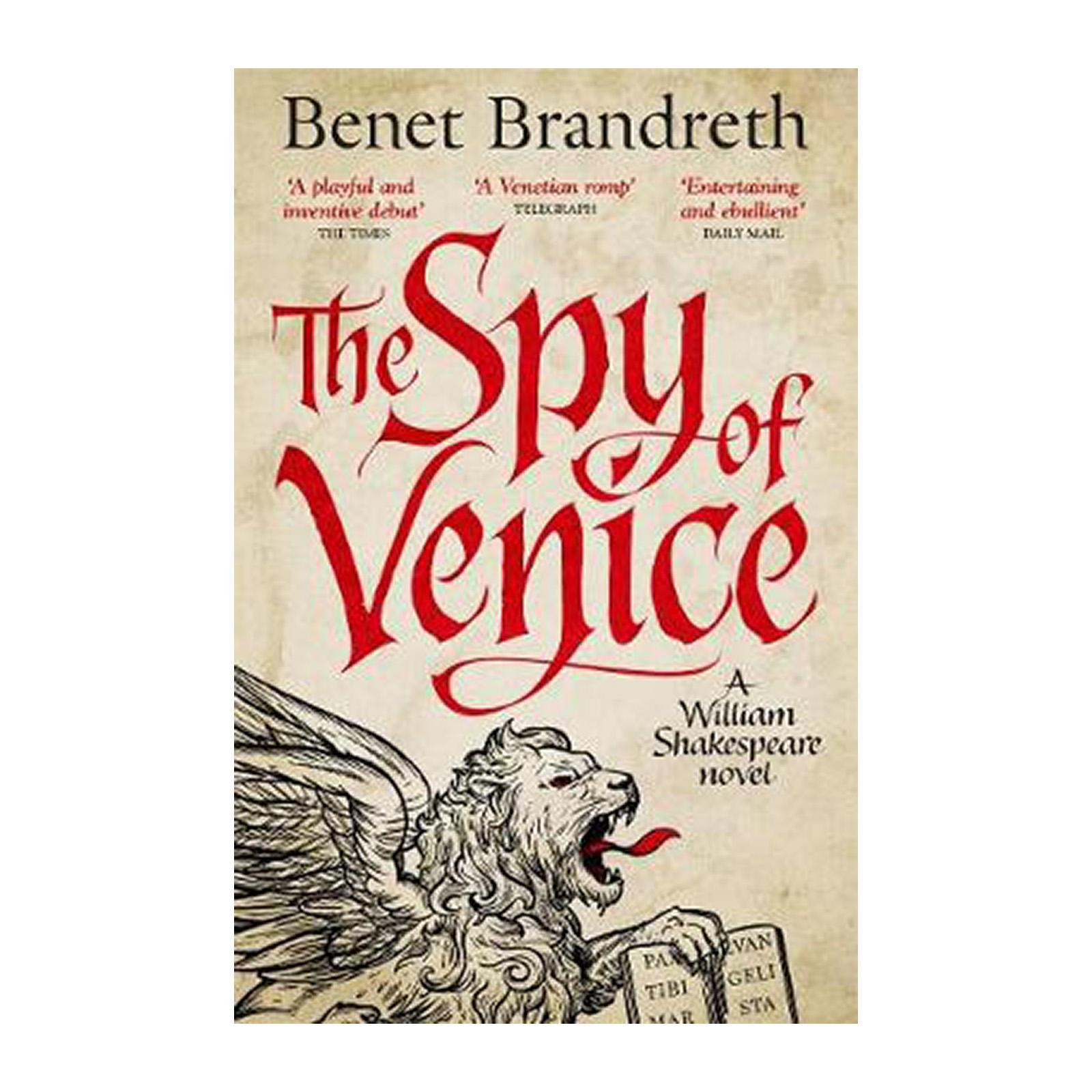The Spy Of Venice: A William Shakespeare Novel (Paperback)
