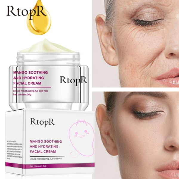 Buy RtopR Face Cream Anti-Wrinkle Anti Aging Whitening Mango Bright Moisturizing Liquid Tights Nourishing Shrink Pores High Quality Singapore