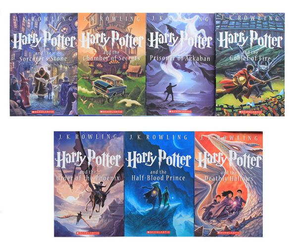 Harry Potter collection US edition (7 books) without Box