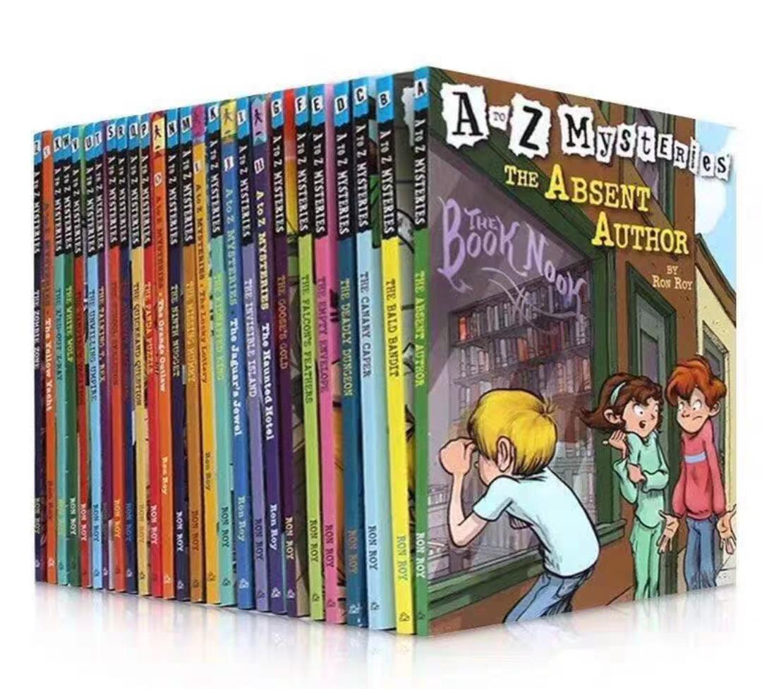 A-Z Mysteries Cases Children/Primary/English Detective Novel Story Books Set