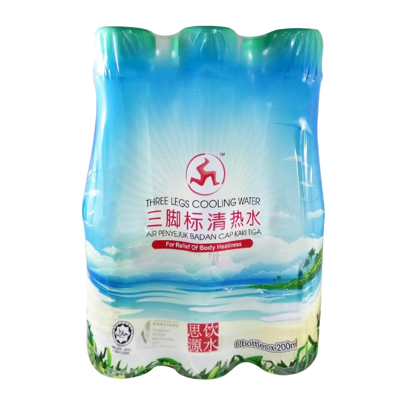 Three Legs Cooling Water - 6s Pack