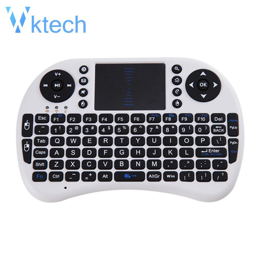 [Vktech] 2 4G Wireless Air Keyboard Mouse Qwerty Remote Touchpad XBMC  Android TV BOX