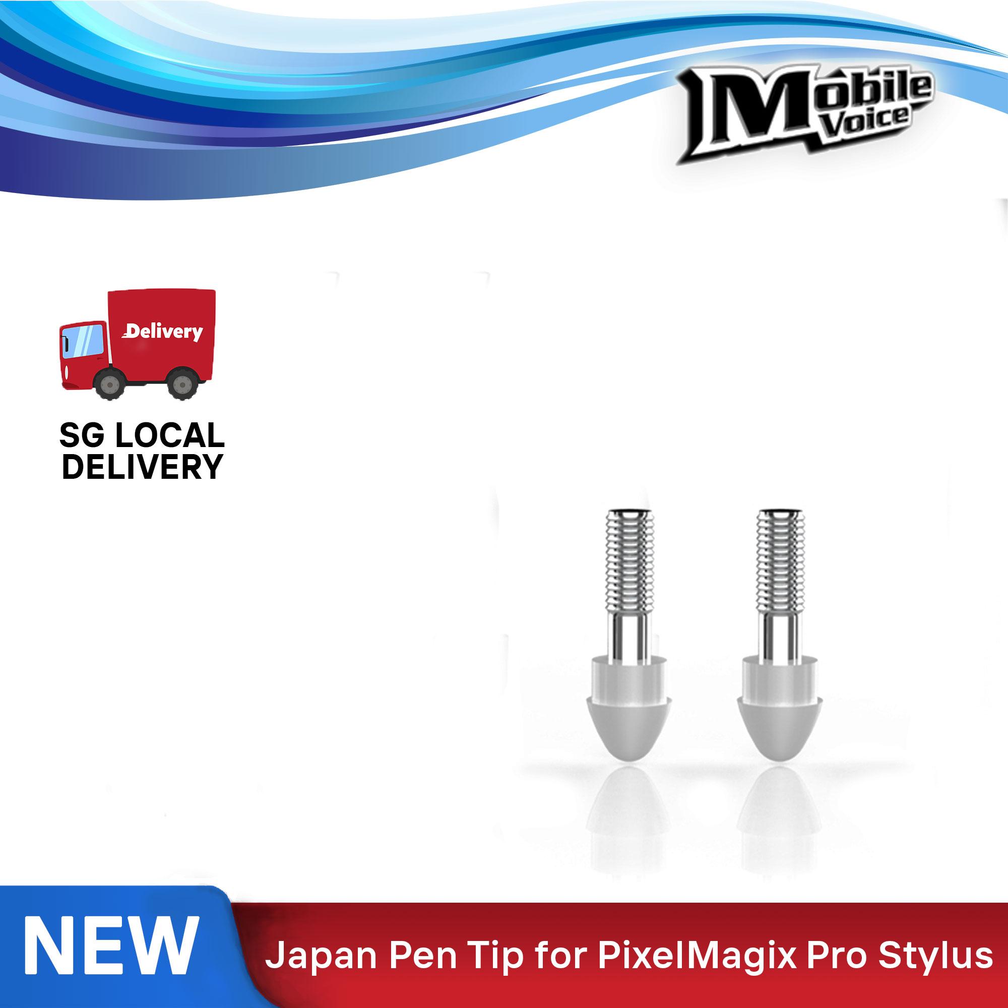 2 Pcs Replacement Japan Stylus Pen Tip For Pixelmagix Pro Palm Rejection Stylus.