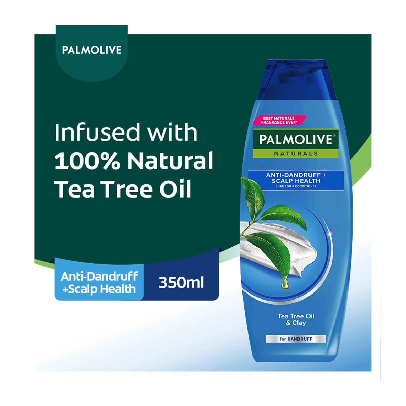 Palmolive Naturals Anti Dandruff + Scalp Health Shampoo and Conditioner 350ml