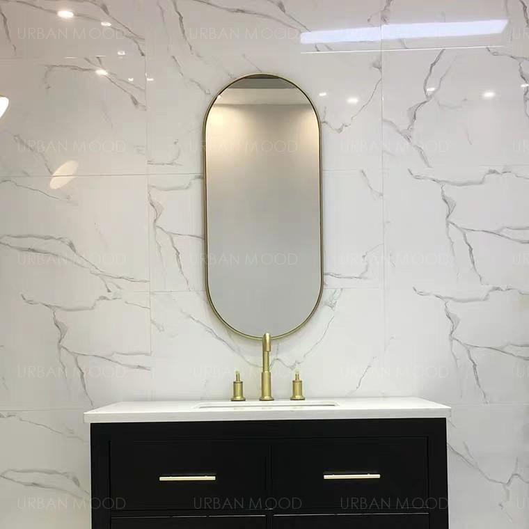 LYLA Stainless Steel Wall Mirror