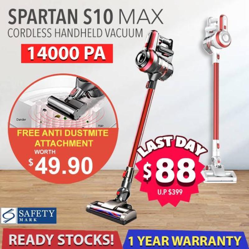 Spartan S10 Max Cordless Handheld Vacuum 14kPA Singapore