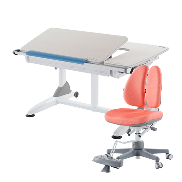 G6+XS Kid2Youth Kids Study Table and DUO Study Chair Set ★ Kids Ergonomic Study Table ★ Study Table For Kids ★ Children Study Desk ★ Height Adjustable Study Table ★ #1 Taiwan Kids Ergonomic Brand ★ Warranty Provided