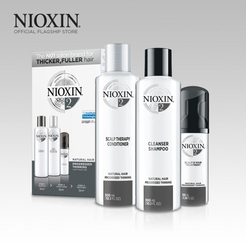 Buy Nioxin System 2 Loyalty Kit for Natural Hair, Progressed Thinning Singapore
