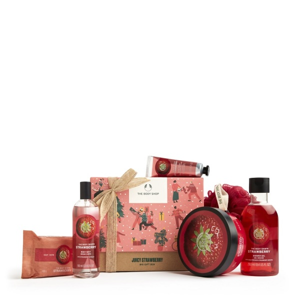 Buy The Body Shop Juicy Strawberry Big Gift Box (Christmas Gift Set) Singapore