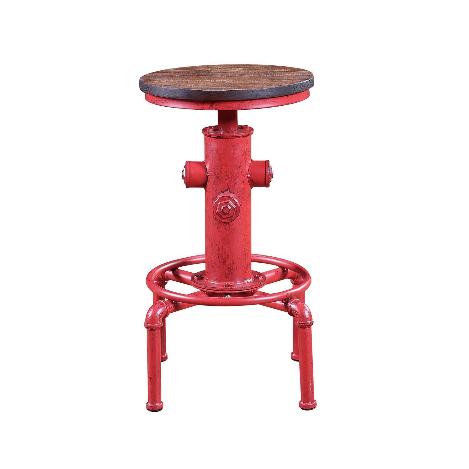 Height Adjustable Bar Stool – Fire Hydrant