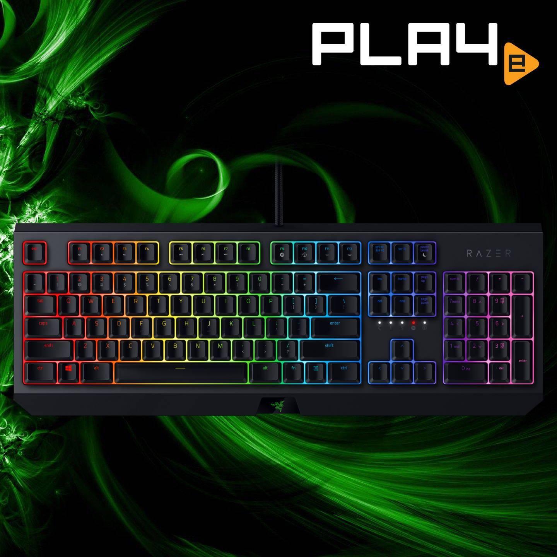 Razer BlackWidow Mechanical Gaming Keyboard Green Key Switches Singapore