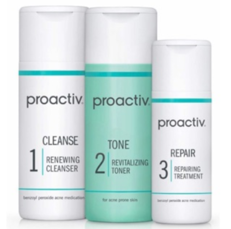 Buy Proactiv 3-Step Acne Treatment System Cleanser Toner Repair - 30,60,90 Days Singapore