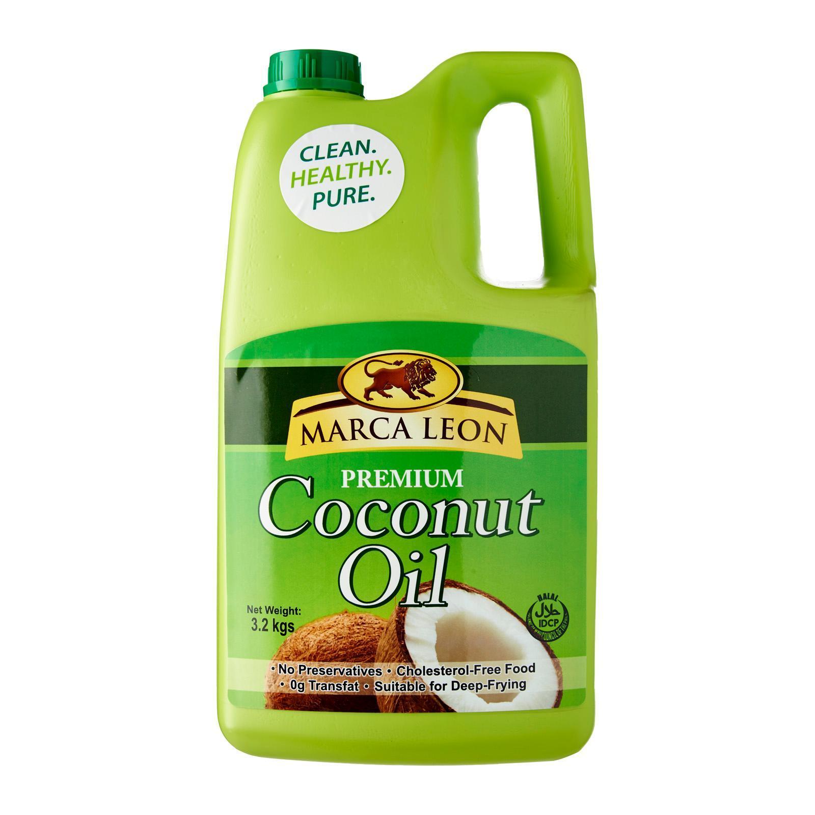 Marca Leon Premium Coconut Oil 1 Gallon