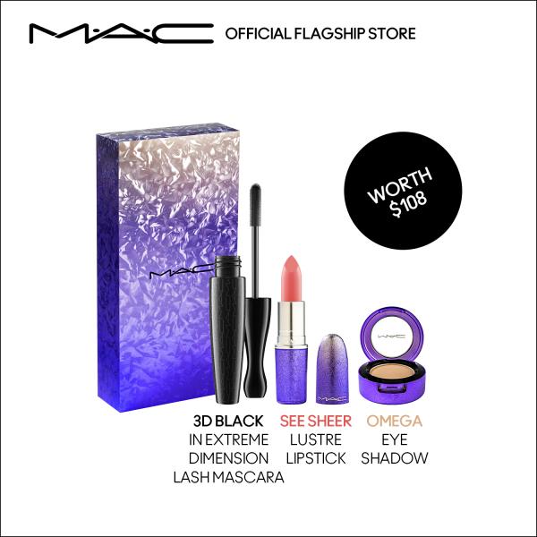 Buy MAC - 3-pcs Make Up Set with Mascara, Lipstick, Eye Shadow (worth $108) • D11 Rest of World Singapore