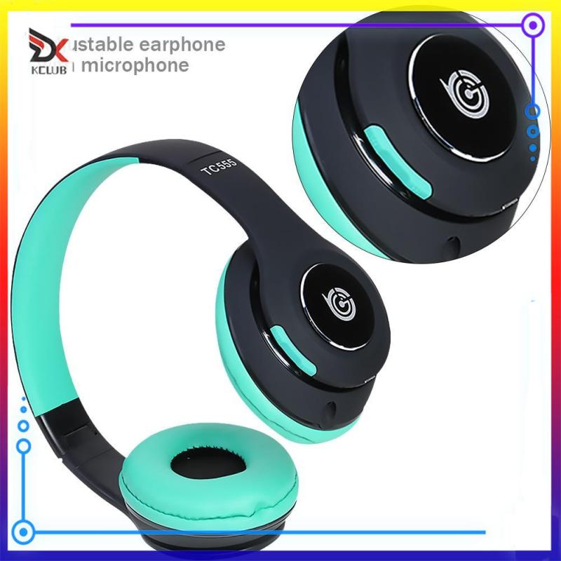 [KCLUB] TC555 Wireless Bluetooth 4.1 Headphone Folding Music Headset w/ Microphone Singapore