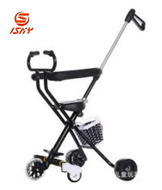 Baby Trolley 5-Wheel Lightweight Foldable Stroller With Brake And Umberlla Singapore