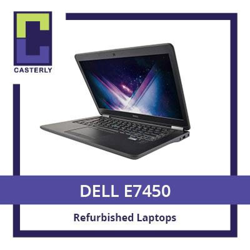 [Refurbished] DELL Latitude E7450 / Intel Core i5-5th Gen / 8GB RAM / 256GB SSD / Windows 10 / Free Gifts + 3 Months Warranty
