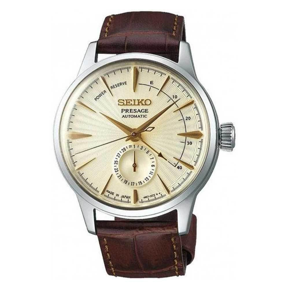 SEIKO PRESAGE COCKTAIL AUTOMATIC SSA987J1 STAINLESS STEEL SILVER MENS WATCH