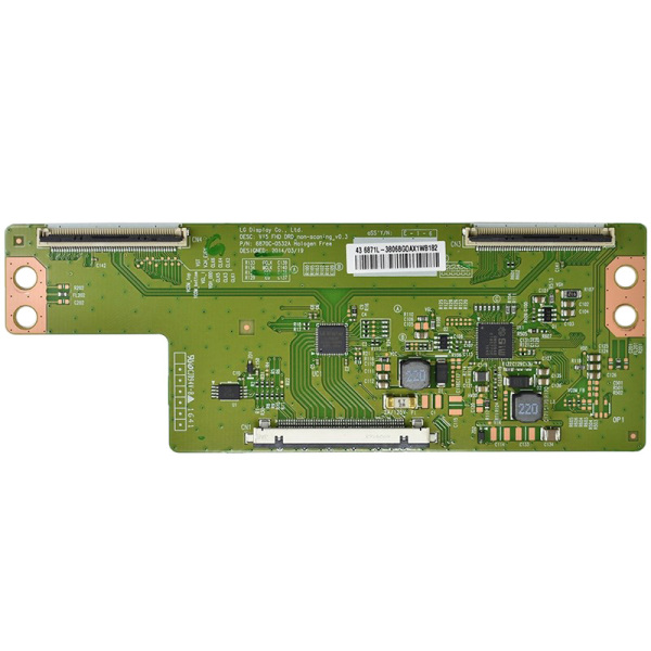 Original Logic Board 6870C-0532A 6870C-0532B 6870C-0532C Controller T-con Board for LG 43 49 55 TV with without Cable