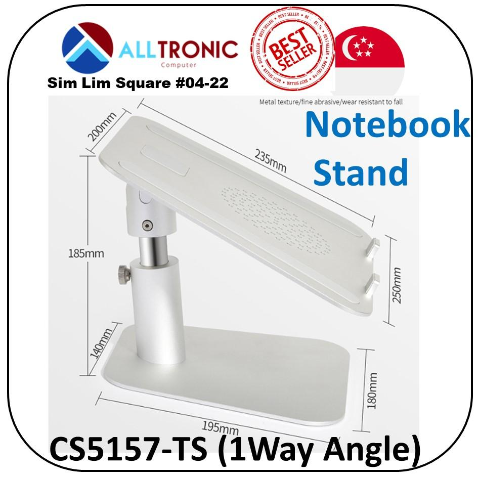 Aluminum Notebook stand Macbook (CS5150-TS Two Way angle Model) /  (CS5157-TS One Way Angle Model )