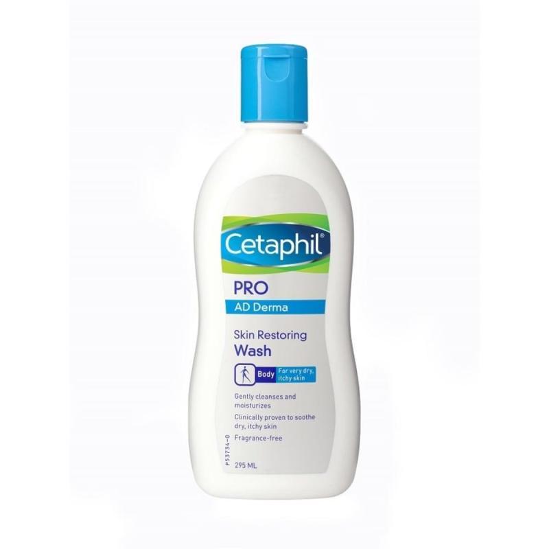Buy Cetaphil Pro AD Derma Skin Restoring Body Wash 295ml Singapore