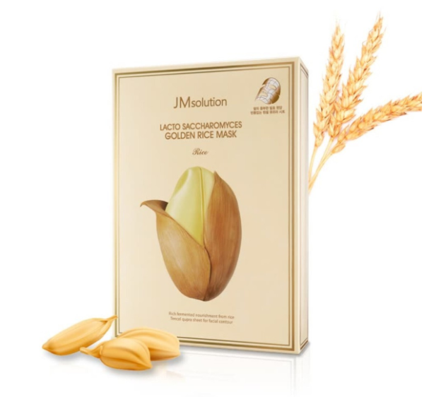 Buy JM Solution Lacto Saccharomyces Golden Rice Mask (10 Sheets)【100% Authentic】 Singapore
