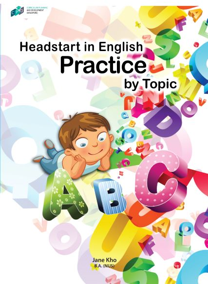 Headstart in English: Practice by Topic/Preschool Assessment Books