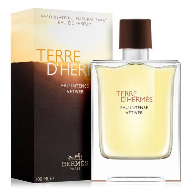 Hermes Terre Dhermes Eau Intense Vetiver Edp For Men (100ml) Dhermes Eau De Parfum [100% Authentic Brand New Perfume/fragrance].