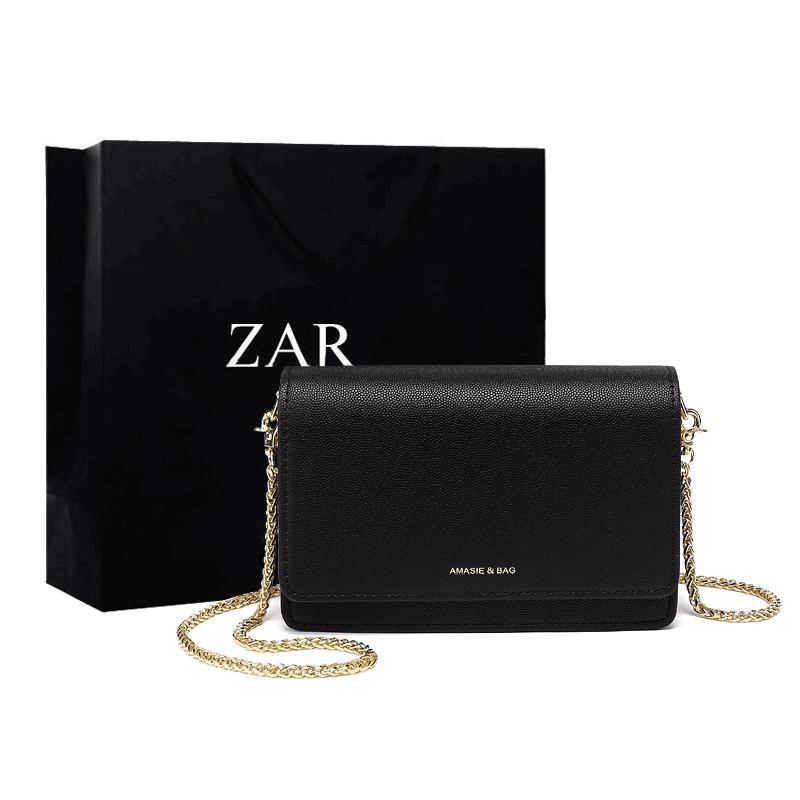 Hong Kong Small CK Small Bag 2019 New Style Fashion Simple Caviar Versatile Chain Square Sling Bag Female Crossbody/shoulder Bag
