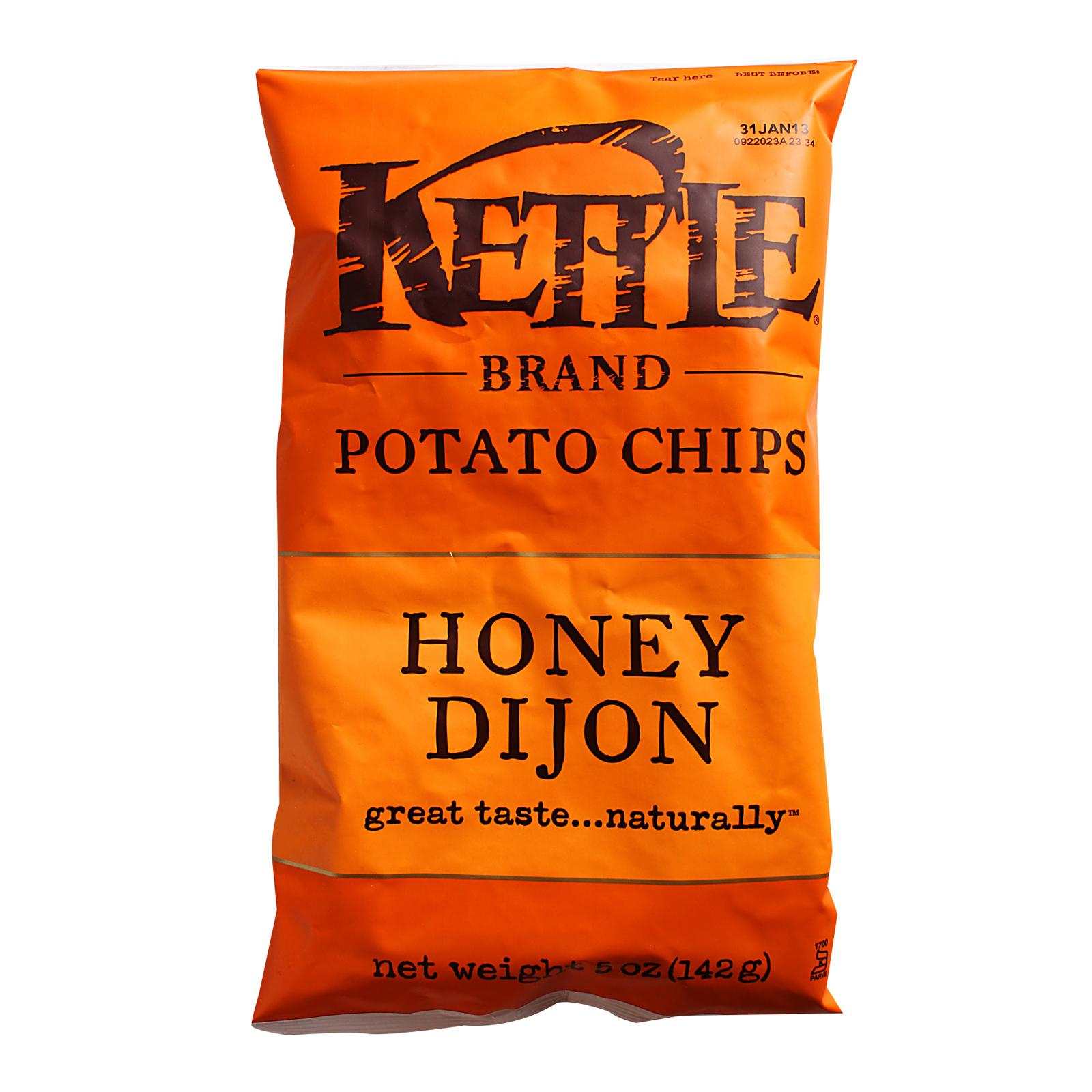 Kettle Honey Dijon Potato Chips By Redmart.
