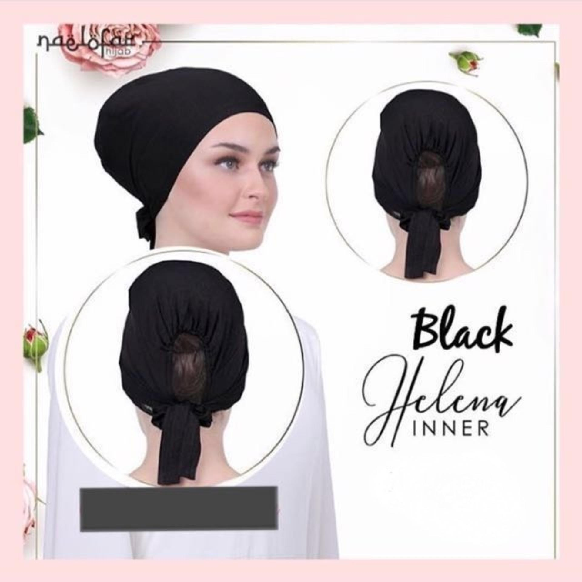 Helena Inner* Naelofar Hijab Inspired * Premium Lycra Cotton* Muslim Wear By Cantik Butterfly.