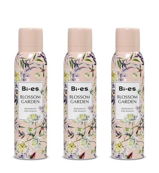 Buy (BUNDLE OF 3) BI-ES BLOSSOM GARDEN DEODORANT 150ML Singapore
