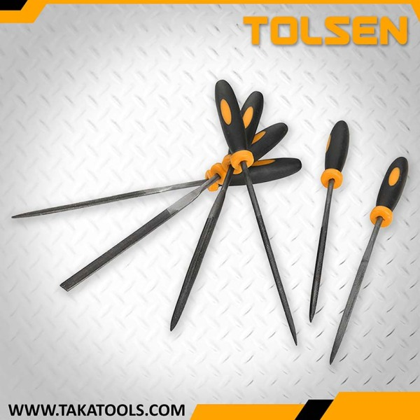 Tolsen 6Pcs Needles Files Set - 32046