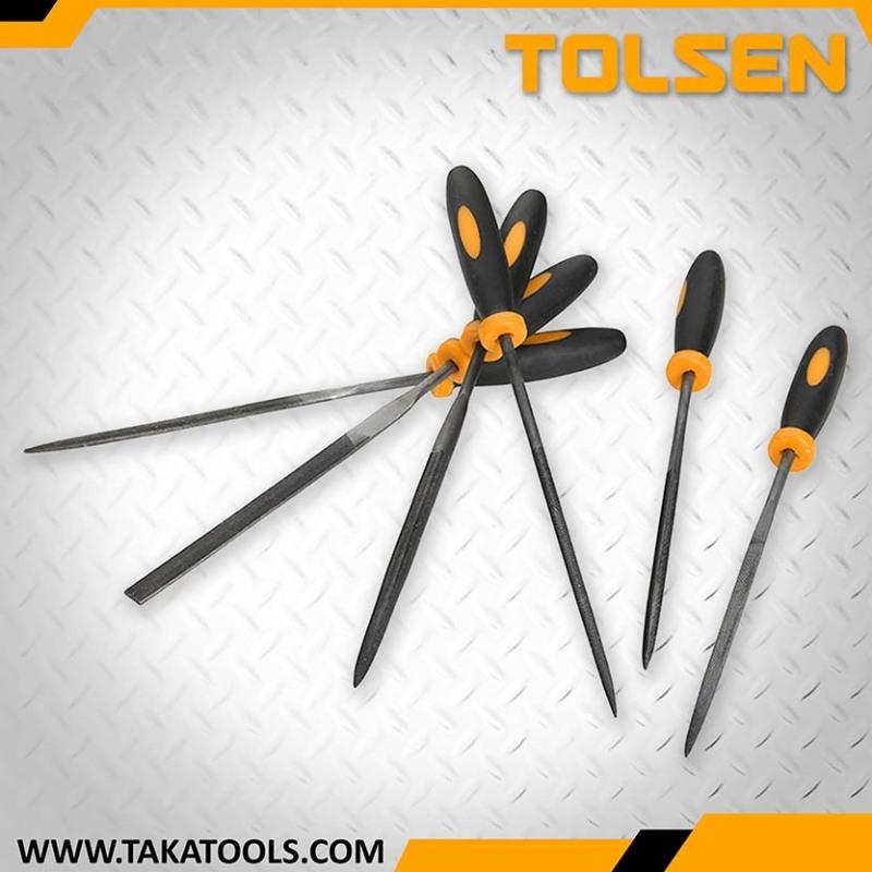 Tolsen 6Pcs Needles Files Set - 32046