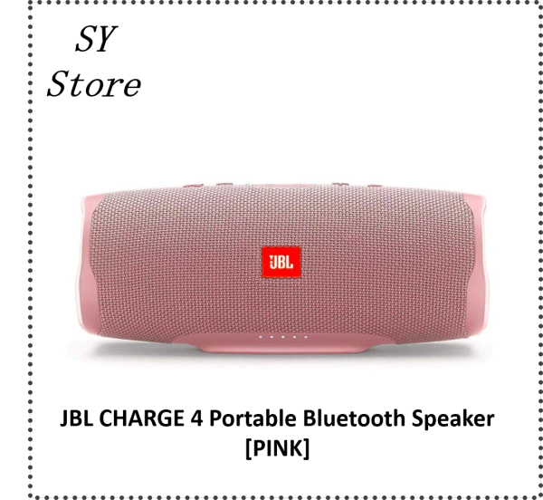 JBL Charge 4 Portable Bluetooth Speaker IPX7 Waterproof Outdoor Music Hifi Sound Deep Bass Speaker - SY Store Singapore