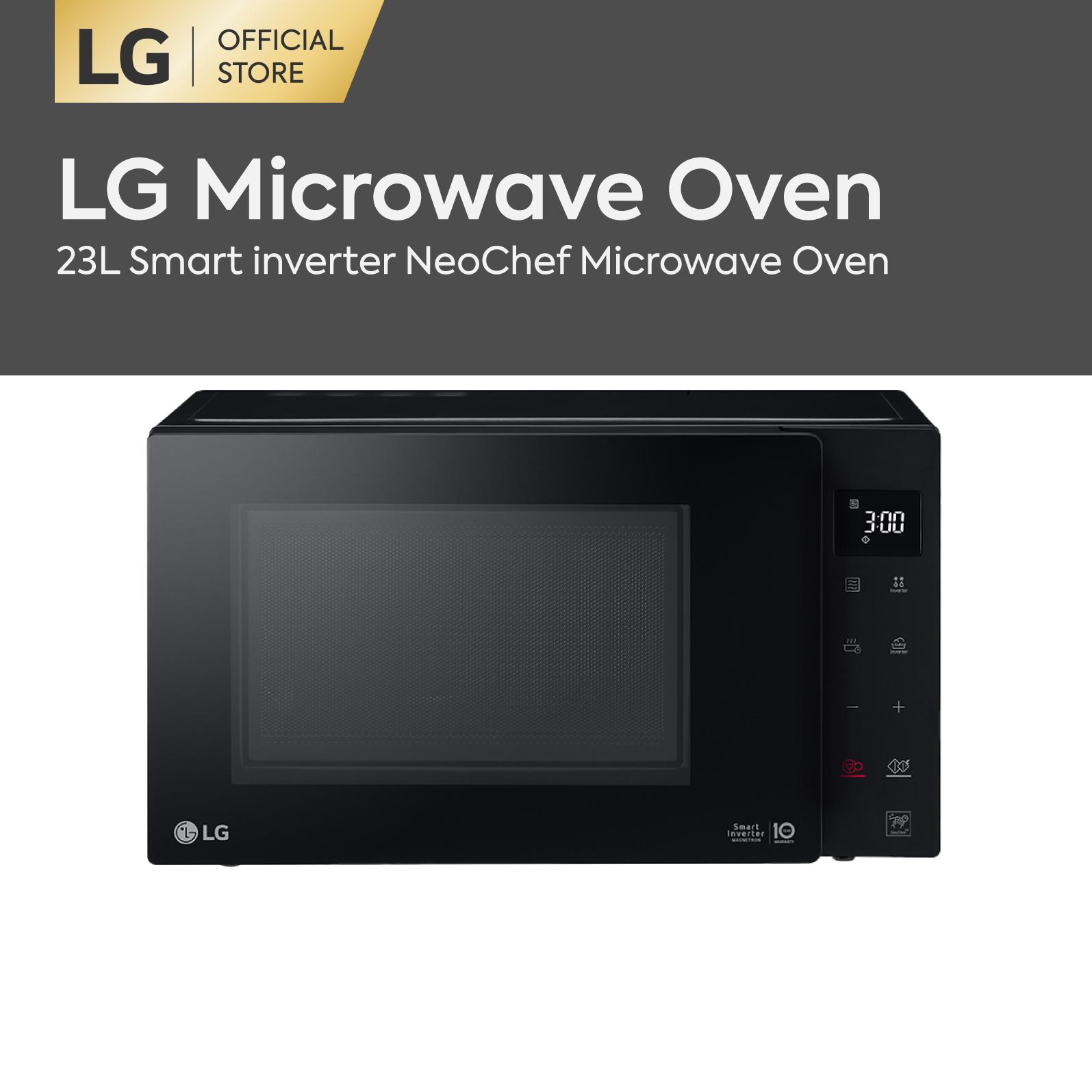 Lg Ms2336gib 23l Solo Neochef Smart Inverter Microwave Oven.