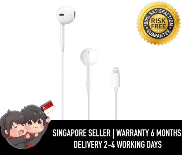 Authentic Apple Earpods With Lightning Connector #183 Singapore