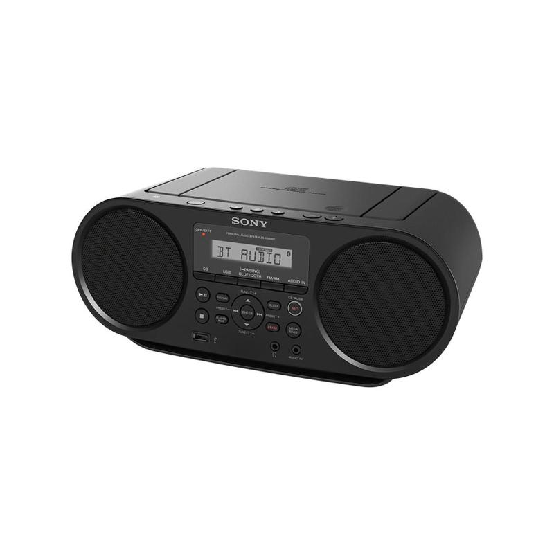 Sony ZS-RS60BT (1 Year Warranty) CD FM Radio Boombox with Bluetooth Singapore